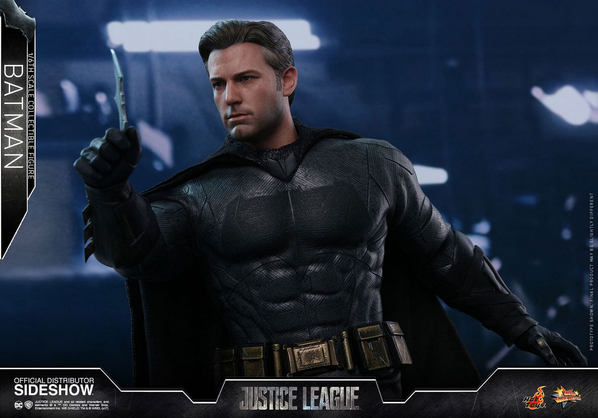 justice league movie - batman 1  6 scale series hot toys movie masterpiece action figure