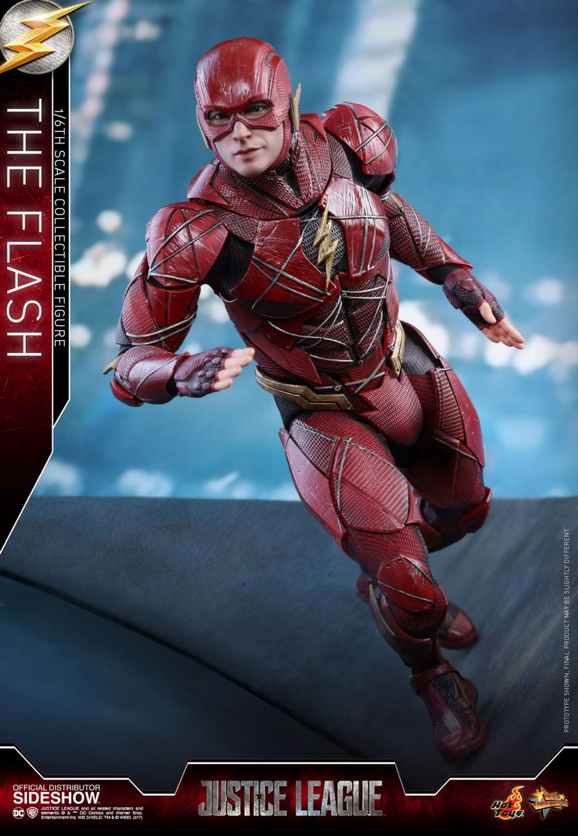 justice league movie the flash 16 scale series hot toys