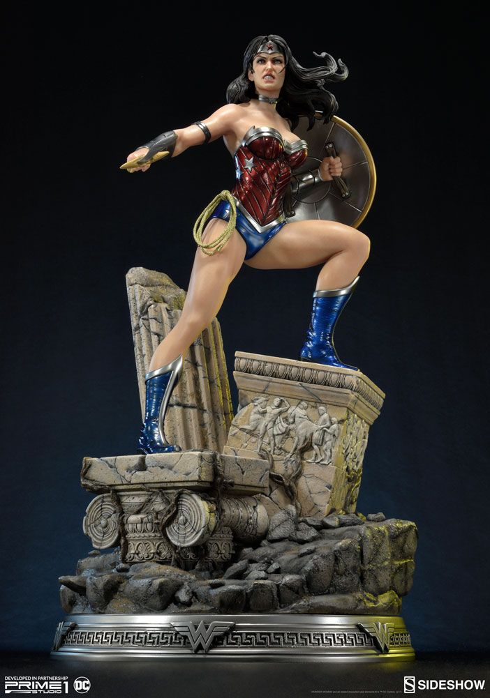 justice league new 52 wonder woman sideshow