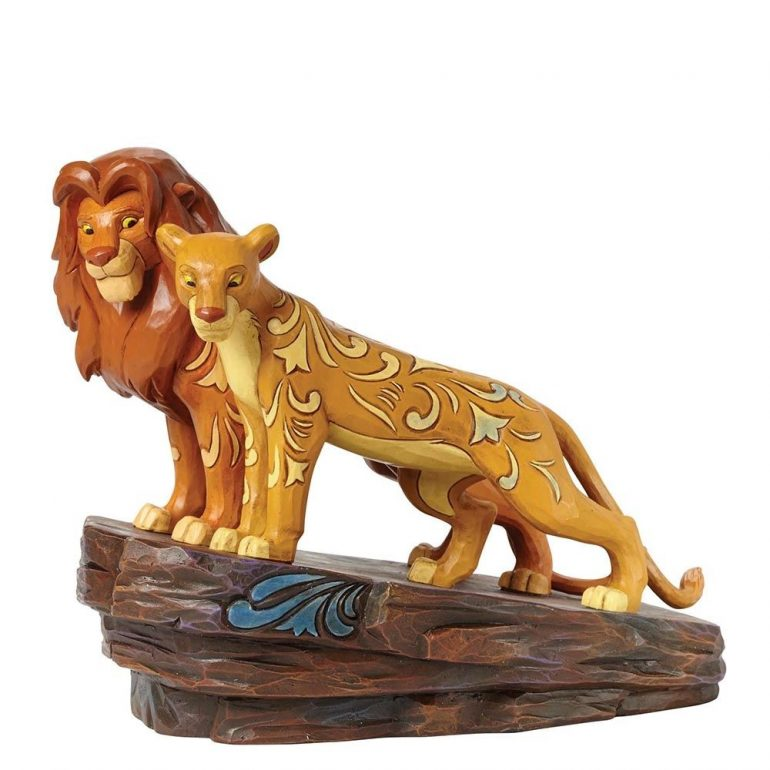 Lion King Simba and Nala Figurine