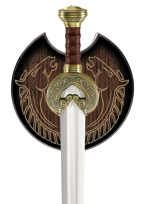 Lord Of The Rings King Theodens Herugrim Replica Sword