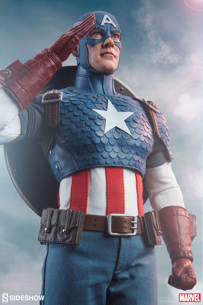 Captain America Captain Marvel