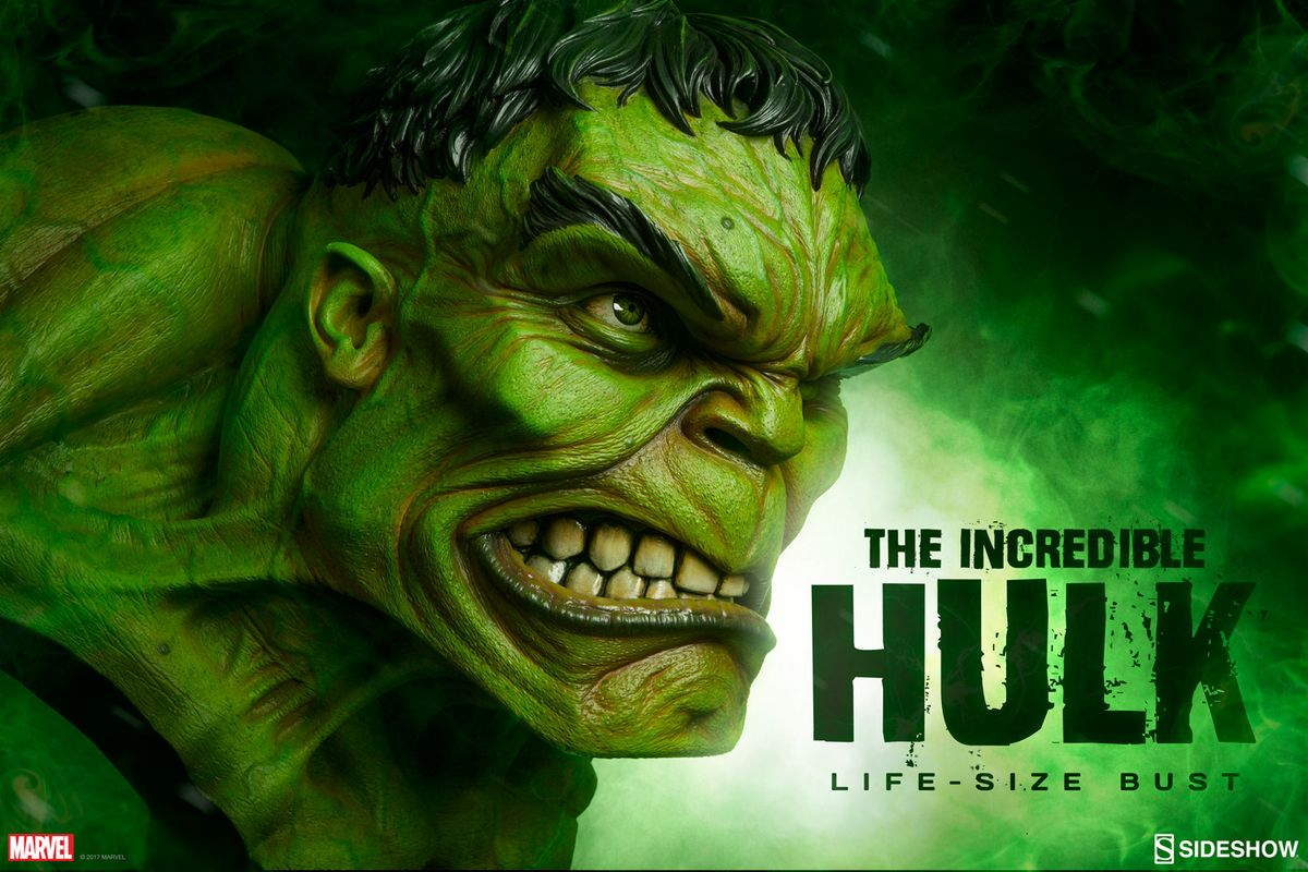 Marvel Comics The Incredible Hulk 1 1 Bust Sideshow