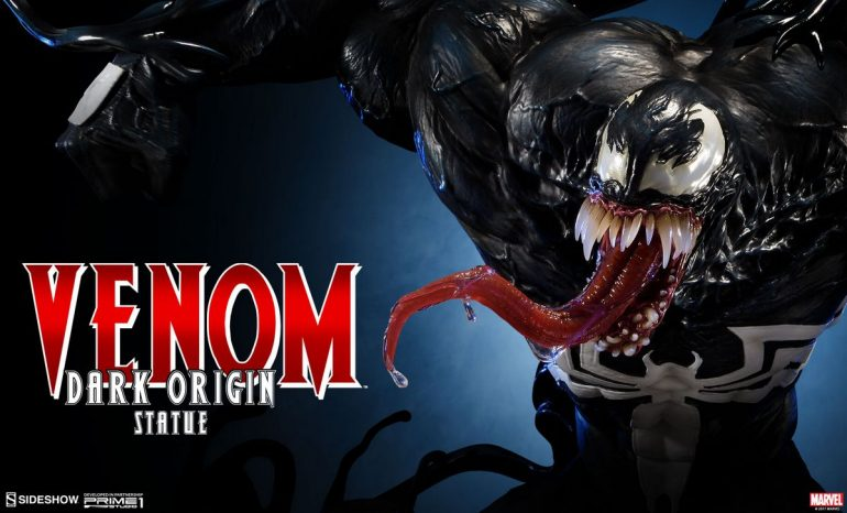 Marvel-Comics-Venom-(Dark-Origin)-Sideshow-Collectibles-Statue1