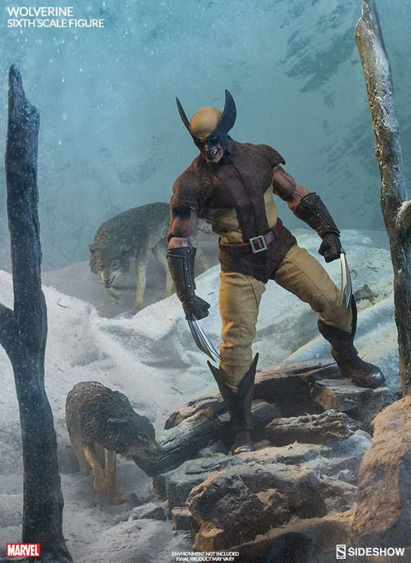 Marvel Comics Wolverine 1 6 Scale Sideshow Collectibles