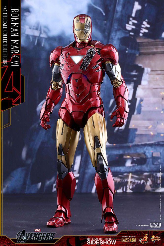 marvels the avengers iron man mark vi 16 scale movie
