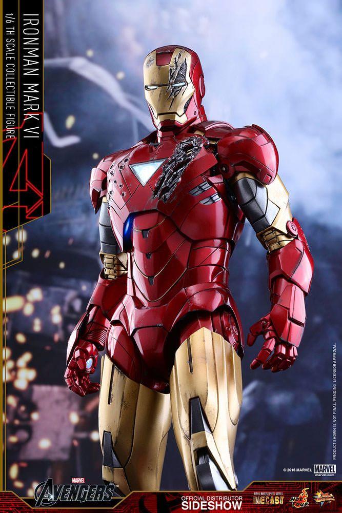 Marvel S The Avengers Iron Man Mark Vi 1 6 Scale Movie