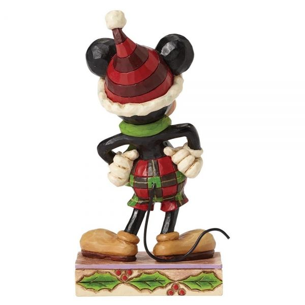 Merry Mickey Mouse Figurine