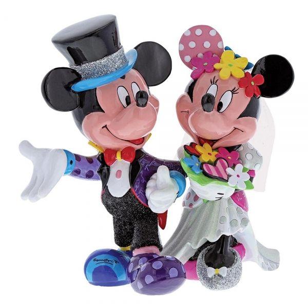 Mickey & Minnie Mouse Wedding Figurine - Movie Mania