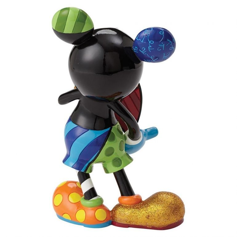 Mickey Mouse with Rotating Heart Figurine