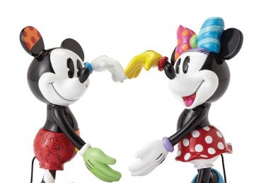 Mickey and Minnie Mouse Figurine