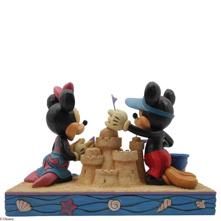 Mickey and Minnie Mouse Seaside Sweethearts Figurine