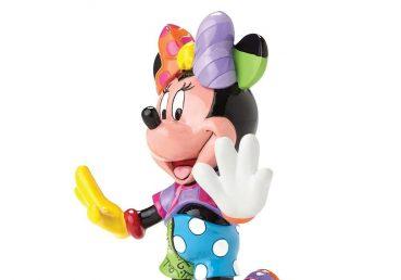 Minnie Mouse Football Figurine