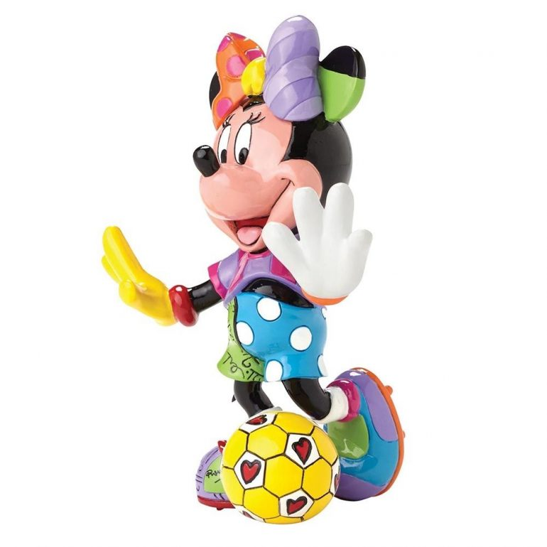 Minnie Mouse Football Figurine