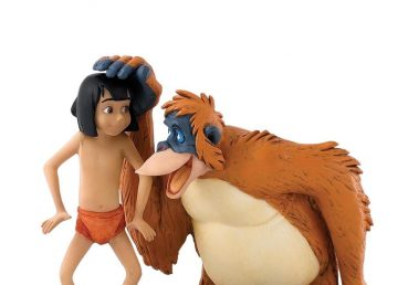 Mowgli and King Louie Figurine