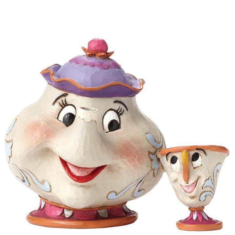 Mrs Potts and Chip Figurine