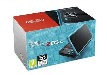 New 2DS XL Black and Turquoise Console