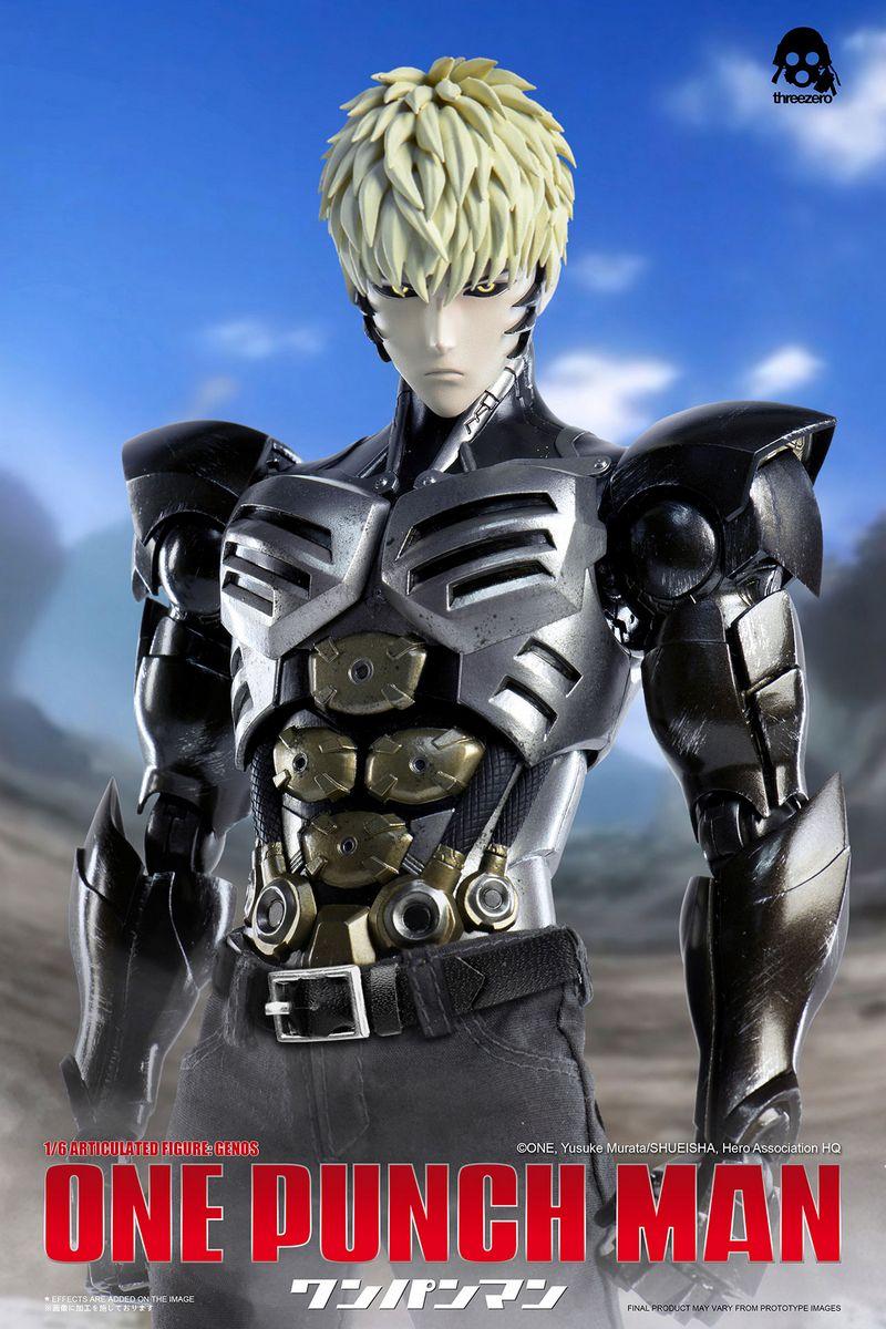 One Punch Man - Genos - ThreeZero 1/6 Scale Action Figure ...