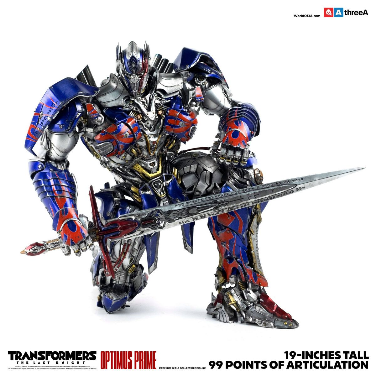 Optimus Prime Transformers The Last Knight 1 6 Scale