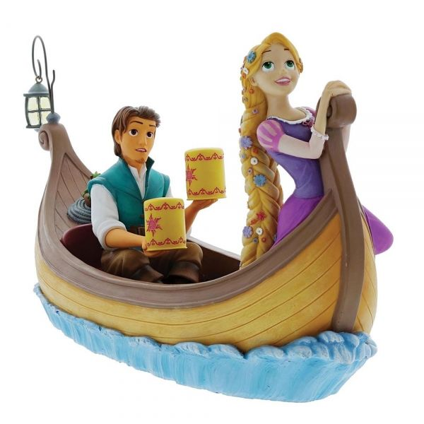 Rapunzel and Flynn Rider - I See The Light Figurine