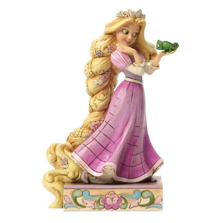 Rapunzel and Pascal Figurine