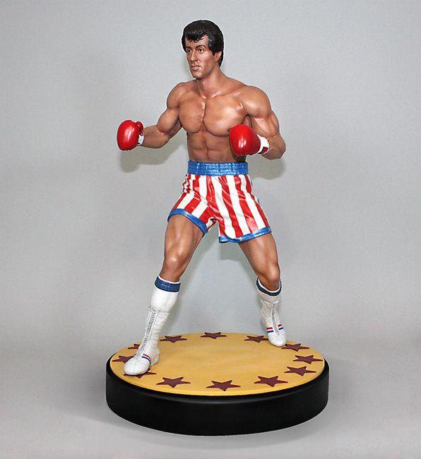 Rocky Rocky Balboa 1 4 Scale Statue Movie Mania
