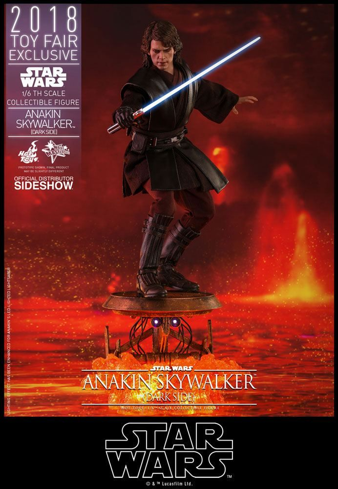 Star Wars Episode Iii Anakin Skywalker Dark Side 16 Scale Movie