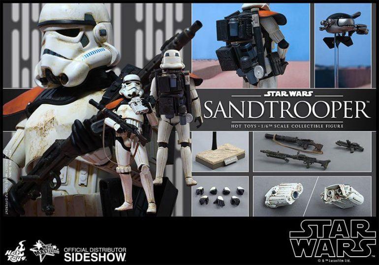 Sandtrooper Hot Toy