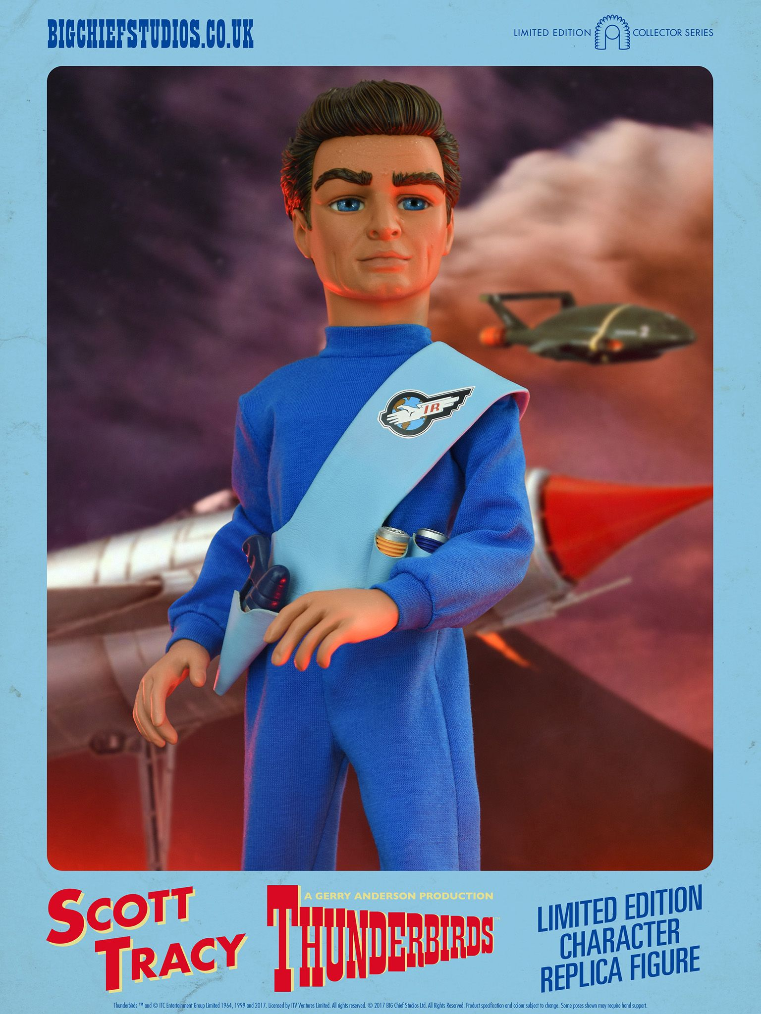 6 Scale Collectible Figure Scott Tracy 1 Big Chief Studios Thunderbirds