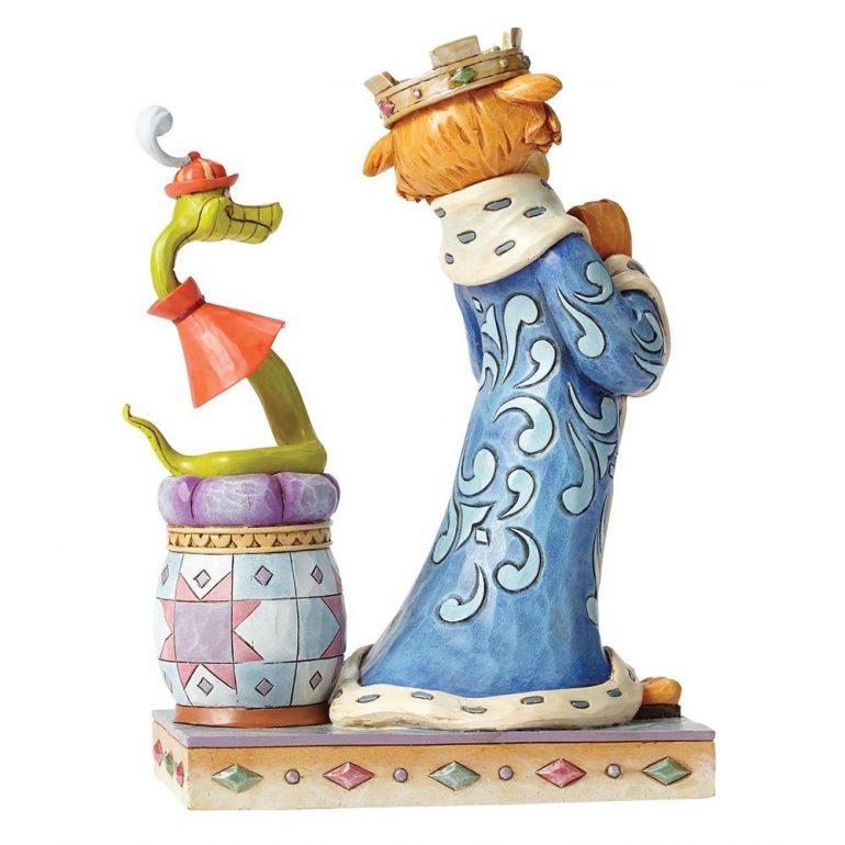 Prince John and Sir Hiss Figurine