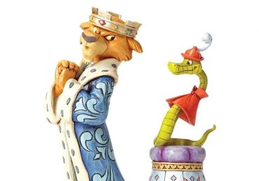 Prince John and Sir Hiss Figurine