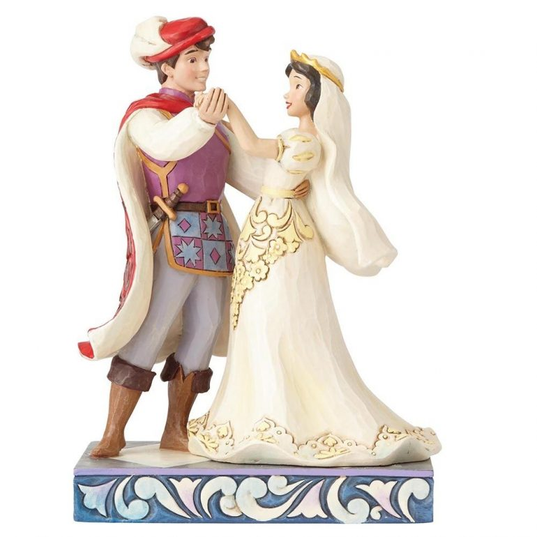Snow White and Prince Figurine