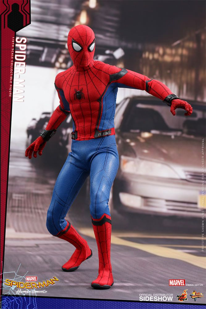 Homecoming Spider Man Toys : Spider man homecoming scale movie