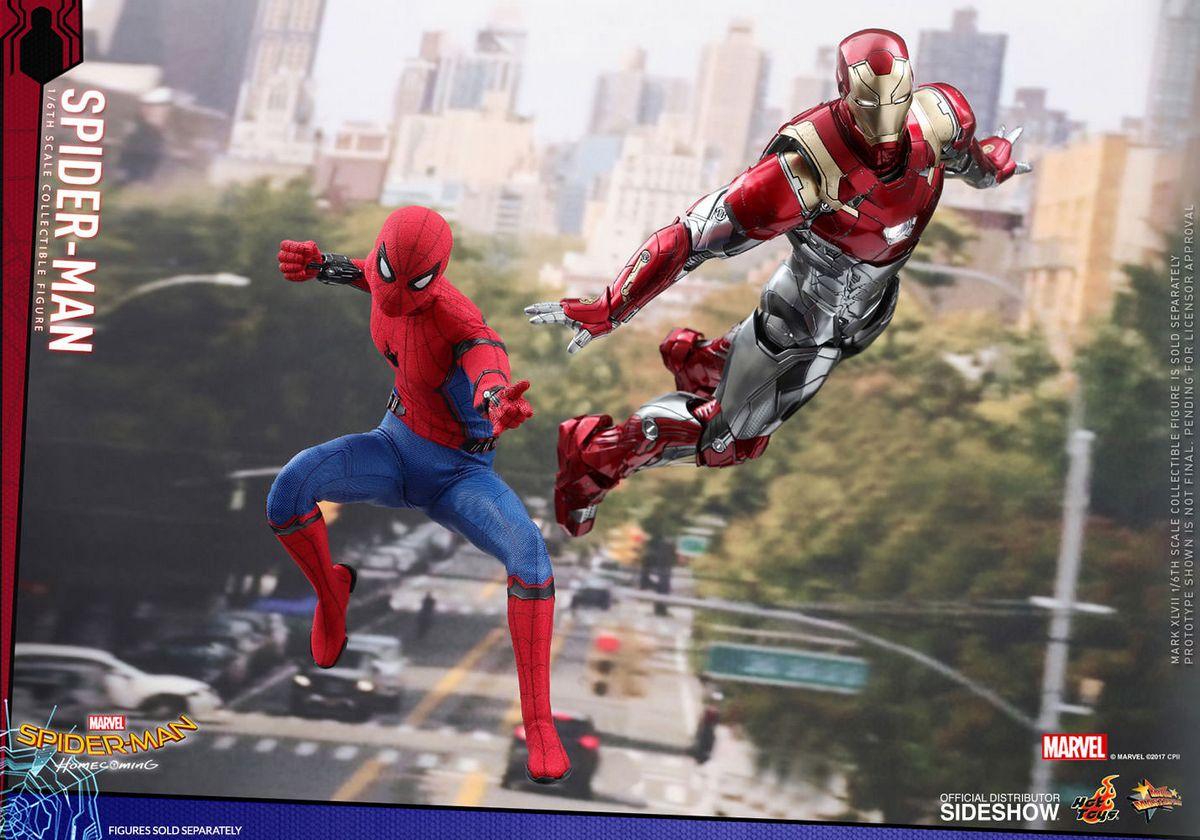 Spider Man Homecoming Spider Man 1 6 Scale Movie Masterpiece Hot
