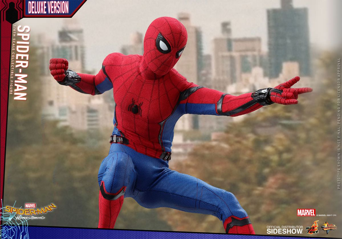 Spider Man Homecoming Spider Man Deluxe Version 1 6 Scale Movie