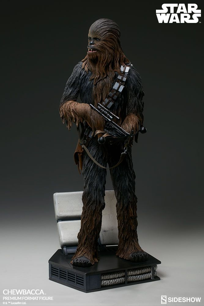 star wars chewbacca premium format sideshow collectibles statue movie mania. Black Bedroom Furniture Sets. Home Design Ideas