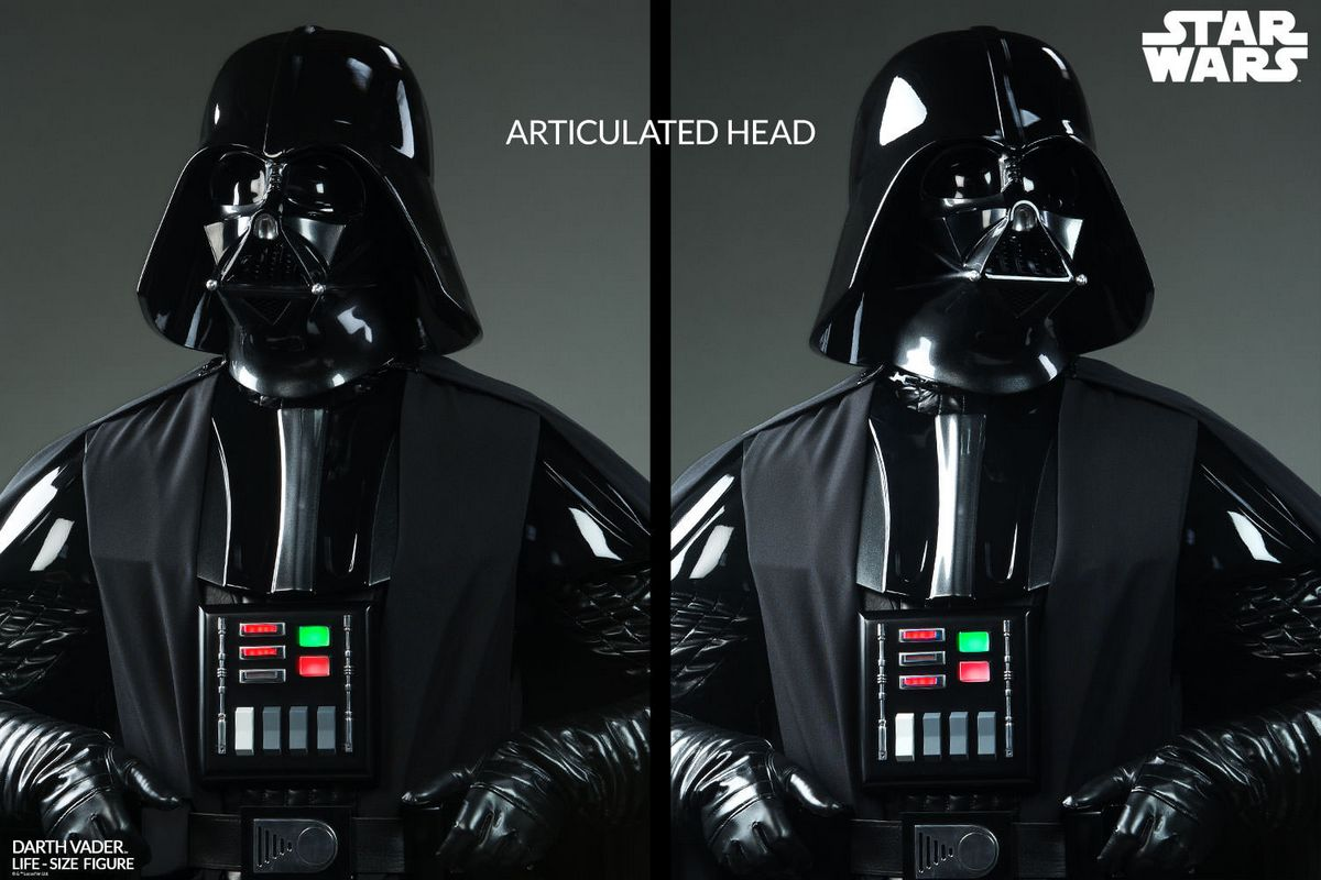 star wars darth vader life size sideshow collectibles statue movie mania. Black Bedroom Furniture Sets. Home Design Ideas