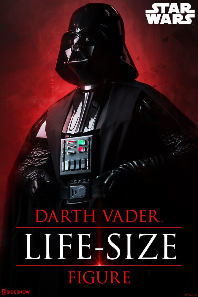 Star Wars Darth Vader Life Size Sideshow Collectibles Statue Movie Mania