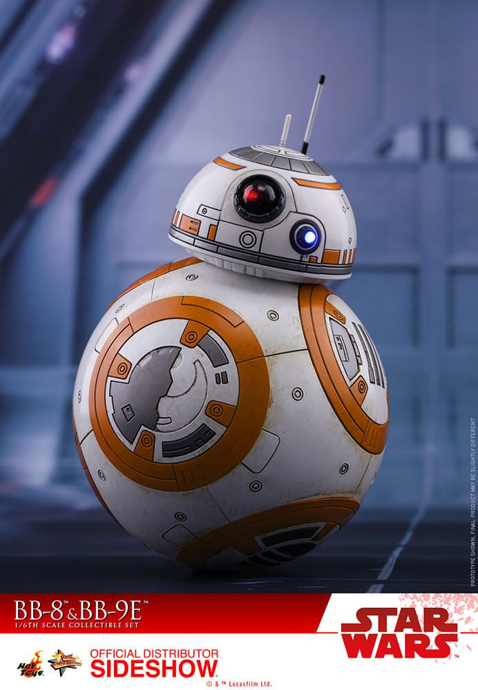 Star Wars Episode Viii Bb 8 Amp Bb 9e 1 6 Scale Movie