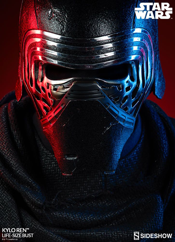 star wars kylo ren life size bust sideshow collectibles statue movie mania. Black Bedroom Furniture Sets. Home Design Ideas