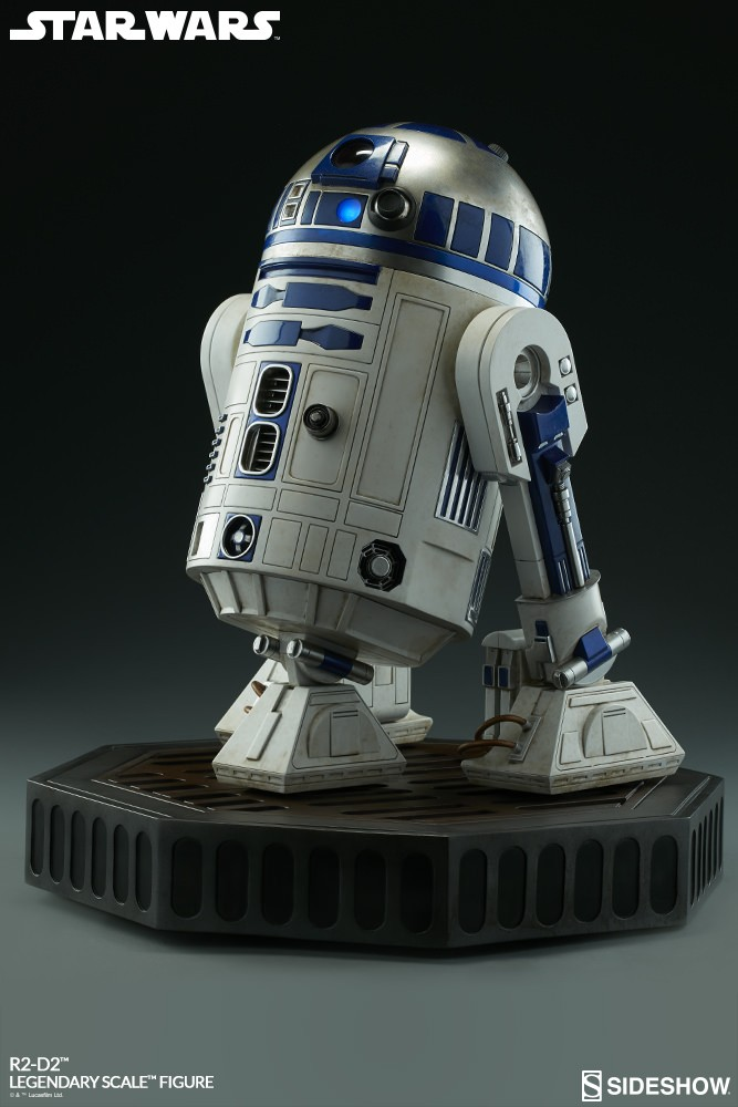 Star Wars Legendary - R2-D2 - Sideshow Collectibles Statue