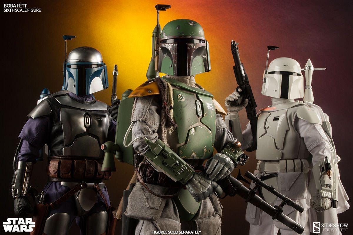 star wars scum villainy boba fett version 1 6 scale sideshow collectibles action figure. Black Bedroom Furniture Sets. Home Design Ideas