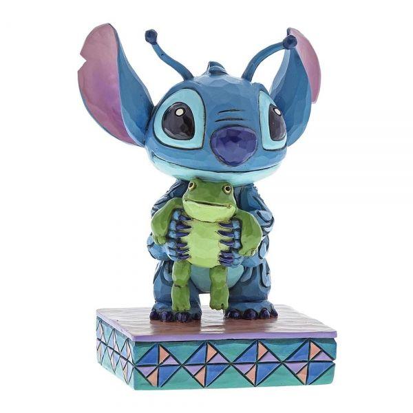 Stitch With Frog Figurine Movie Mania
