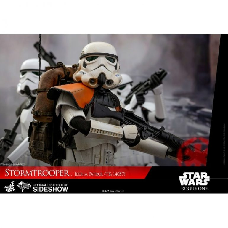 Stormtrooper Jedha Patrol TK-14057 1/6 Scale Hot Toys Action Figure