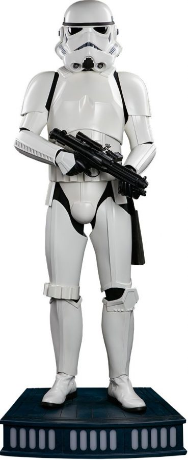 wars stormtrooper size sideshow collectibles