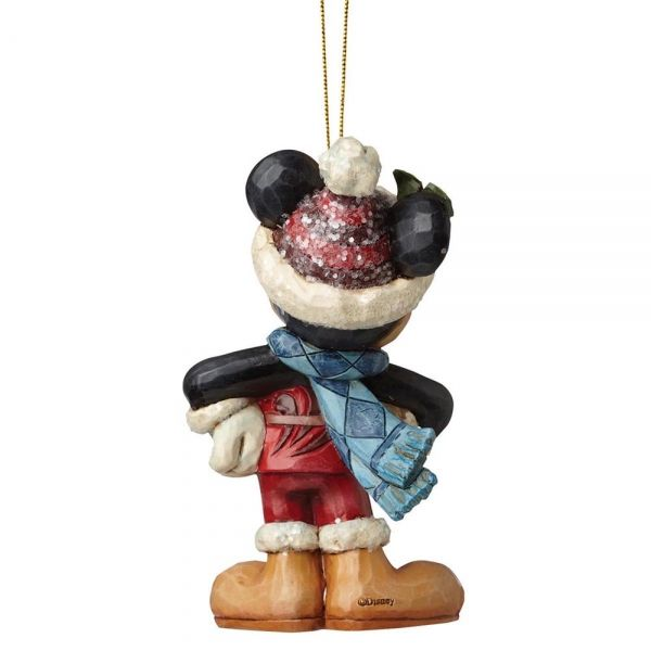 Sugar Coated Mickey Mouse Hanging Ornament