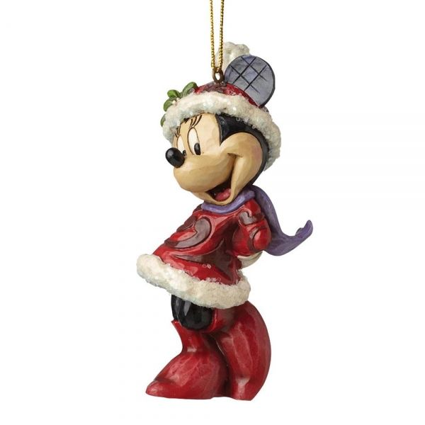 Sugar Coated Minnie Mouse Hanging Ornament