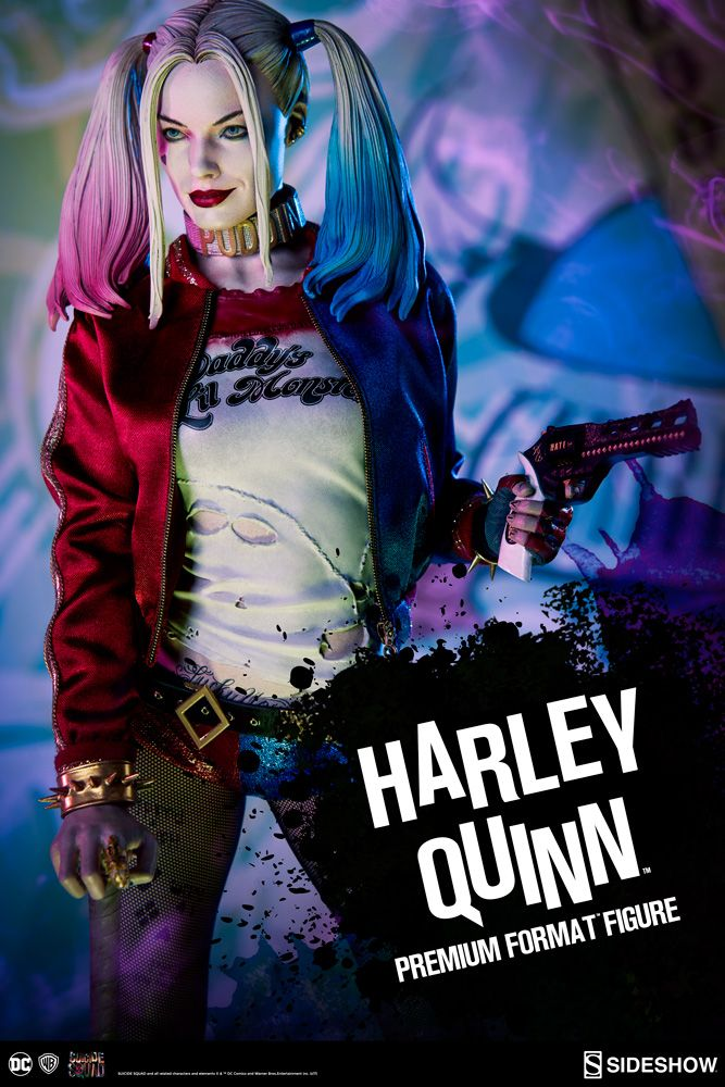 suicide squad harley quinn premium format sideshow collectibles statue movie mania. Black Bedroom Furniture Sets. Home Design Ideas