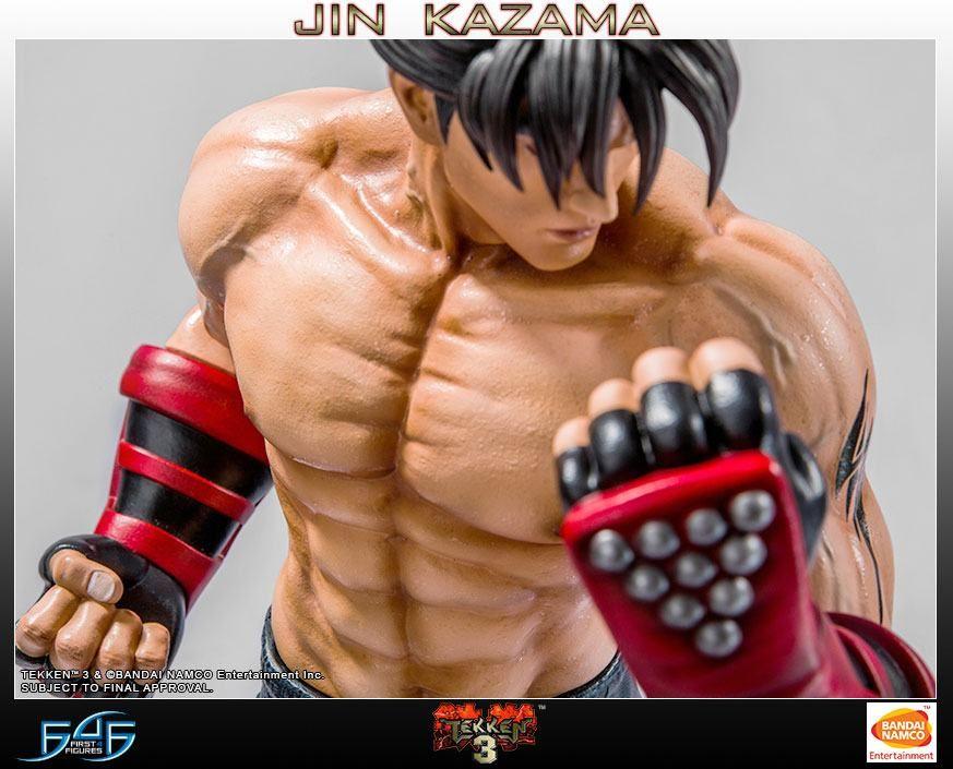 tekken 3 first 4 figures jin kazama 1 4 statue movie mania