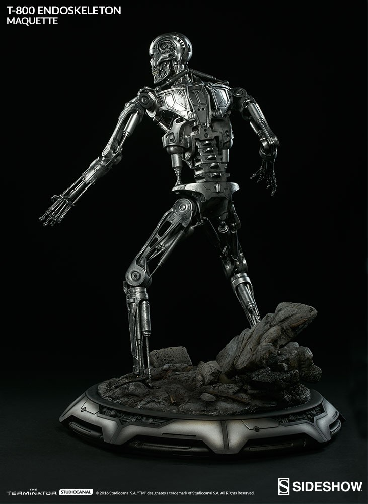 Terminator – T-800 Endoskeleton – Maquette Sideshow Collectibles Statue